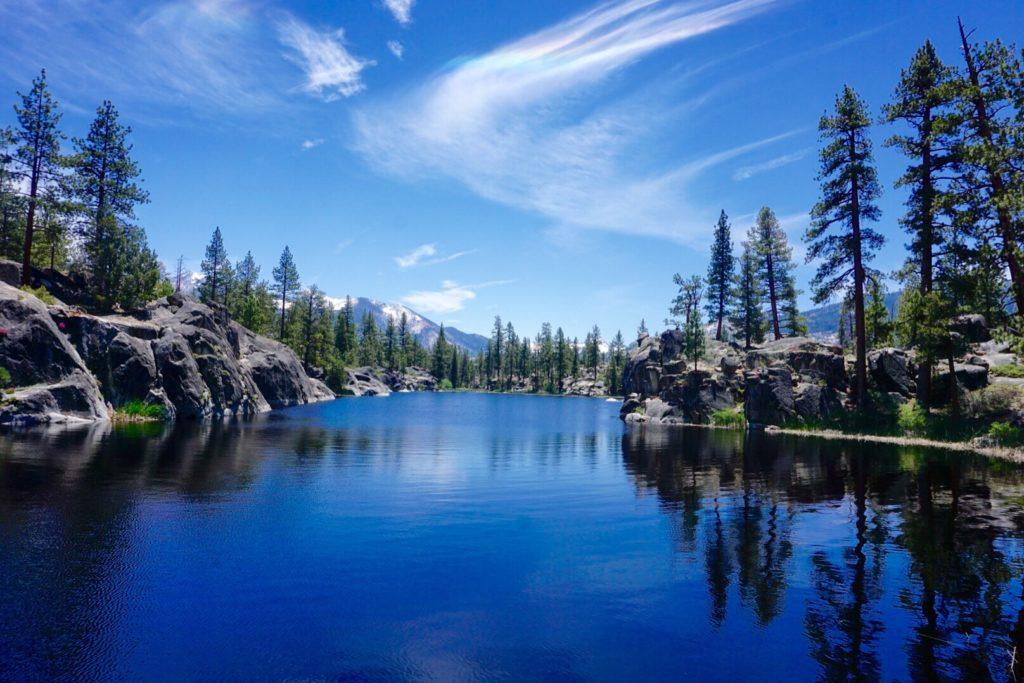 Dorris Lake, Mono Hot Springs