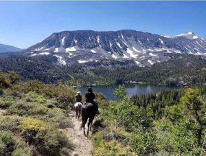 MonoCountyTourism-nett3rs_Horseback-riding-overlooking-Rock-Creek-Lake